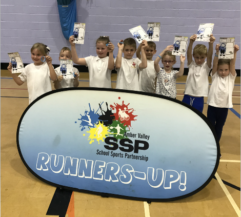 Runners up for Indoor Athletics