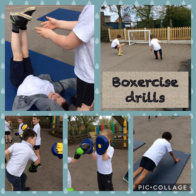 Boxercise Drills