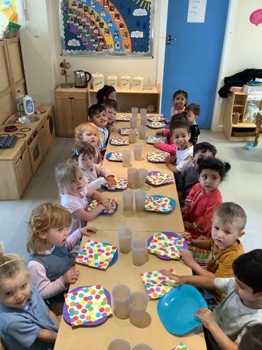 Class 1 Tea Party