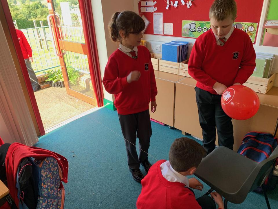 Science - Forces - Lesson 1 - Ballon Rockets!