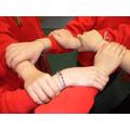 Our friendship bracelets