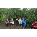 Our first Forest School session.