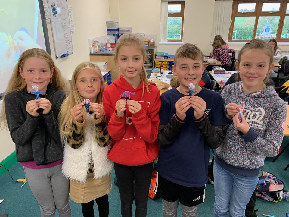 Y6 made Worry Dolls as part of our sessions on mental health.