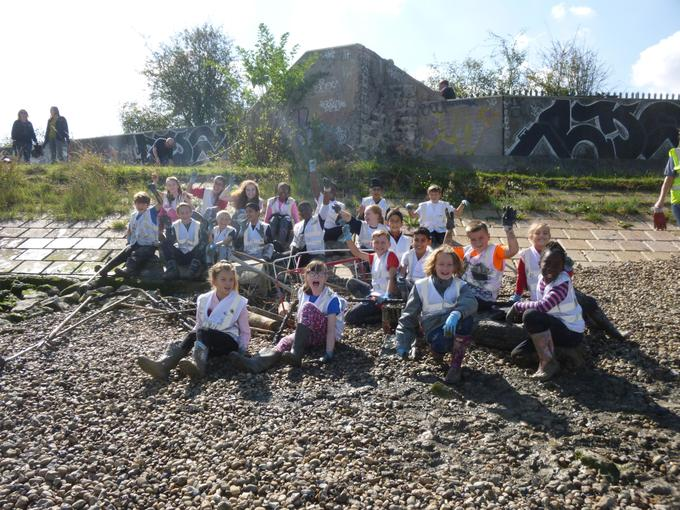 Beach Clean with the PLA & City of London
