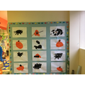 Our fantastic spiders and pumpkins!
