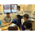 A visit from Andrew Green