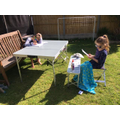 Home learning outdoors