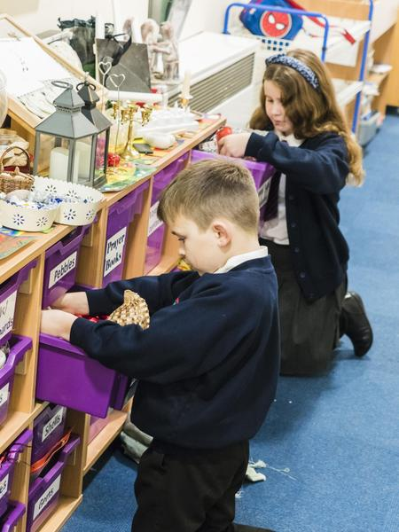 We choose resources from our Liturgy trolley
