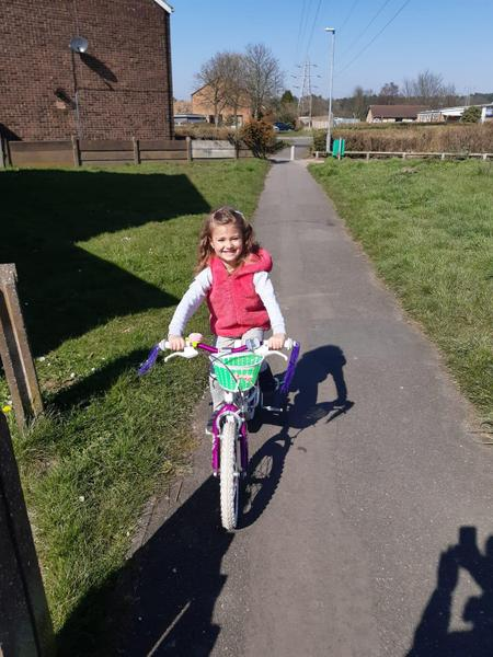 PE Going on a bike ride