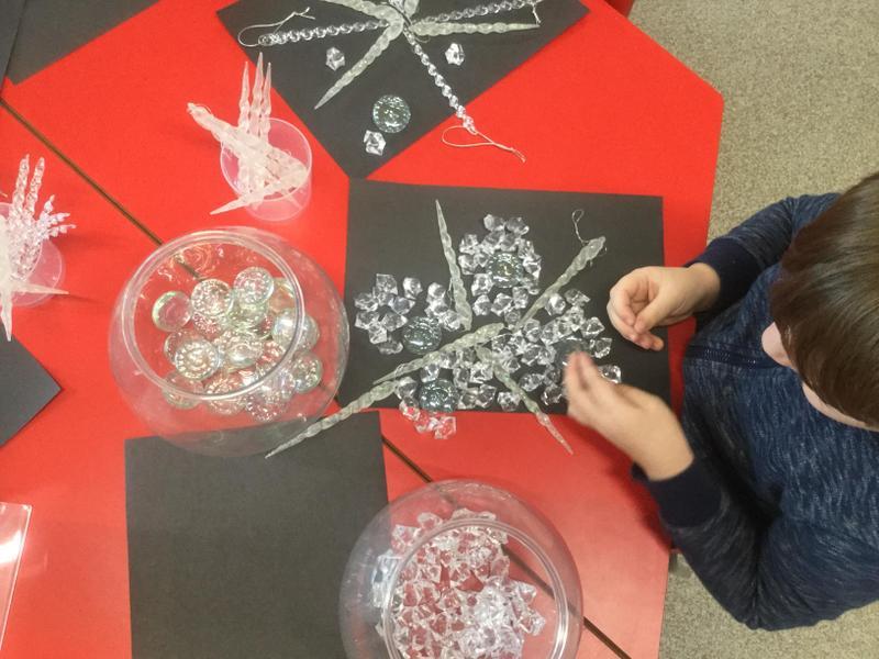 Creating snow flakes