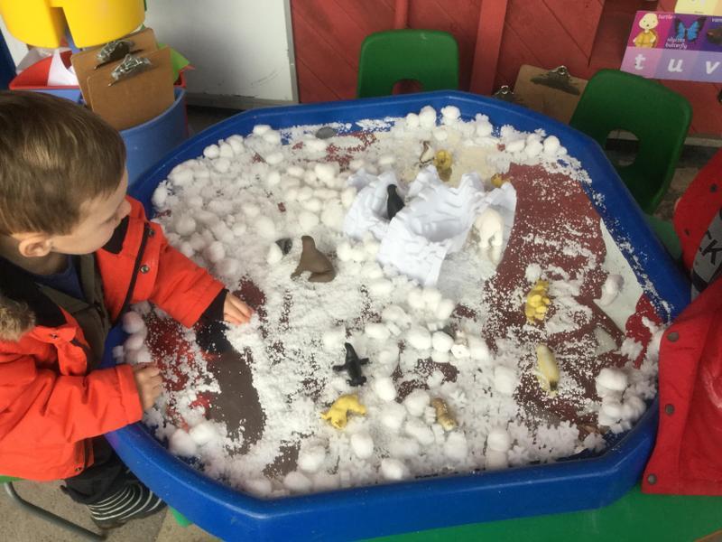 Creating a snow world