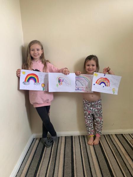 Fantastic rainbows Elee and Stevie