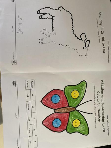 Great mathematics Enzo-Lee!