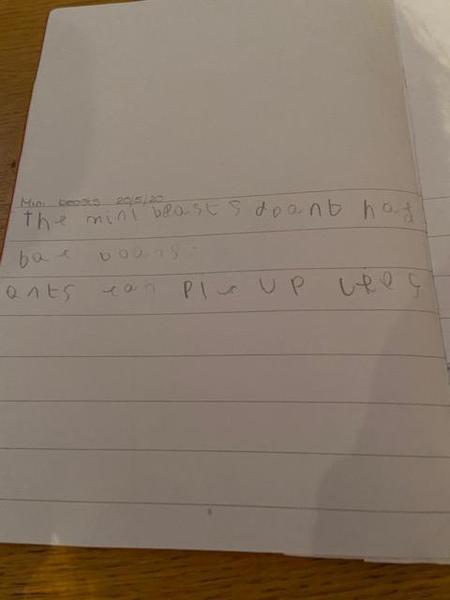 lovely writing Hayden!