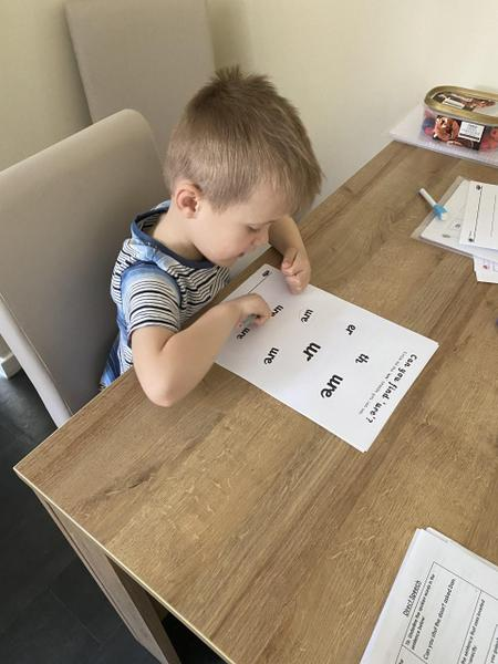 Letters and sounds our ure trigraph
