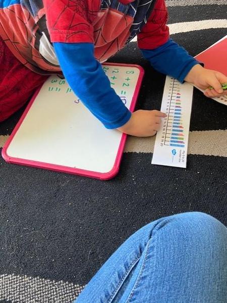 Hayden using his number resources Excellent!