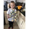These cakes look delicious Caspar!