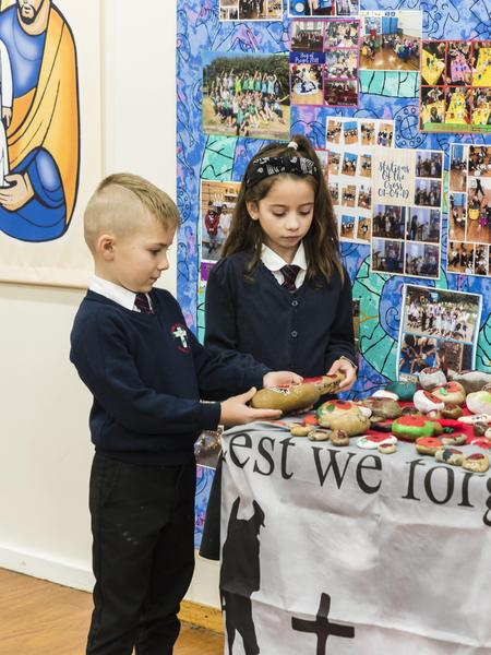 We hold services both at school and in community