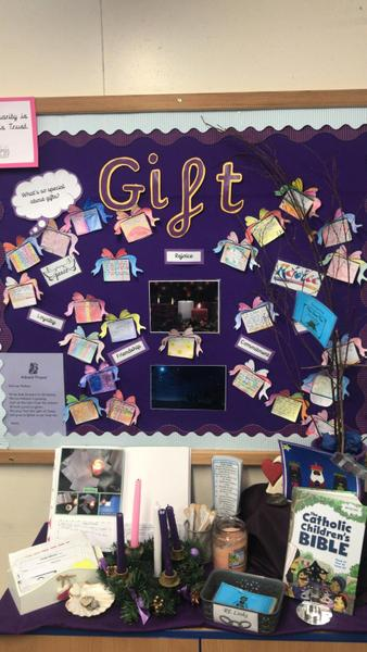 Gift Advent Display