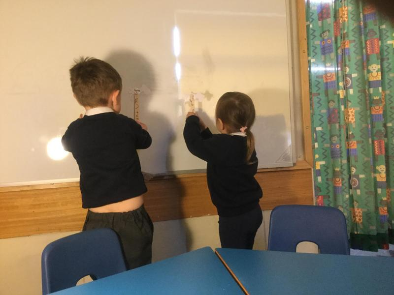 Investigating shadows - sizes