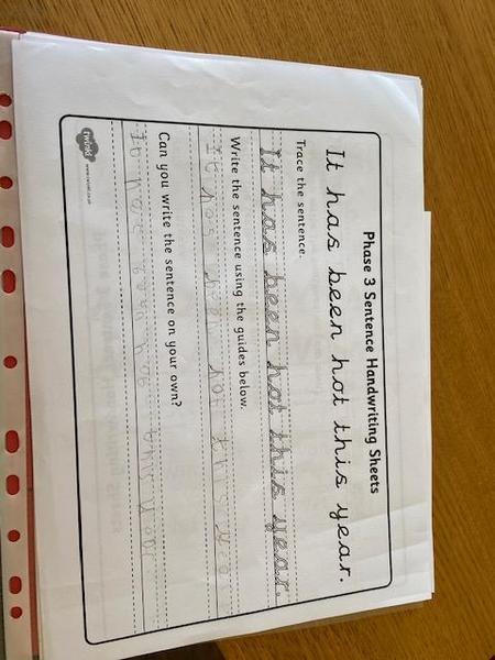 Amazing sentence work Hayden!