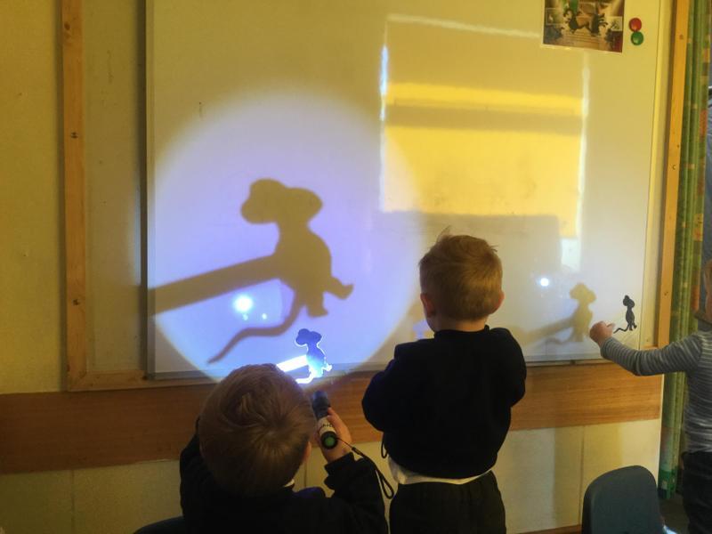 Making big bad mouse shadows