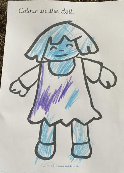 Great colouring Alfie!