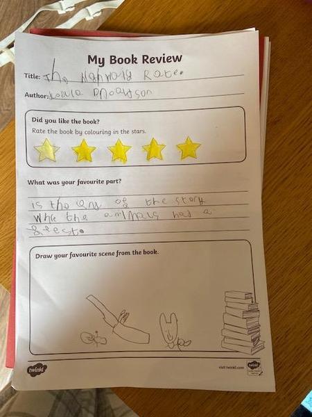 Amazing book review Hayden!