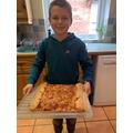 Harry's HUGE pizza