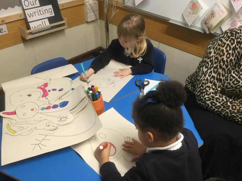 Creating snowmen