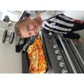 Master chef Riley Ward