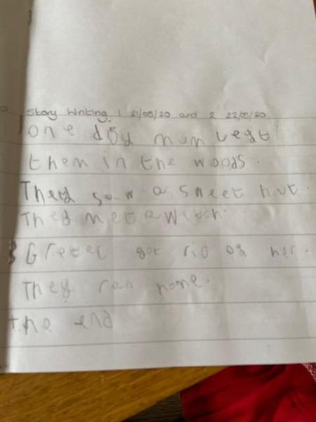 Beautiful writing Hayden!