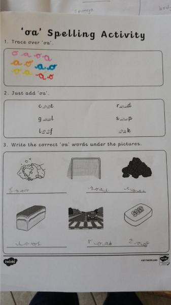 Excellent spellings Robyn!