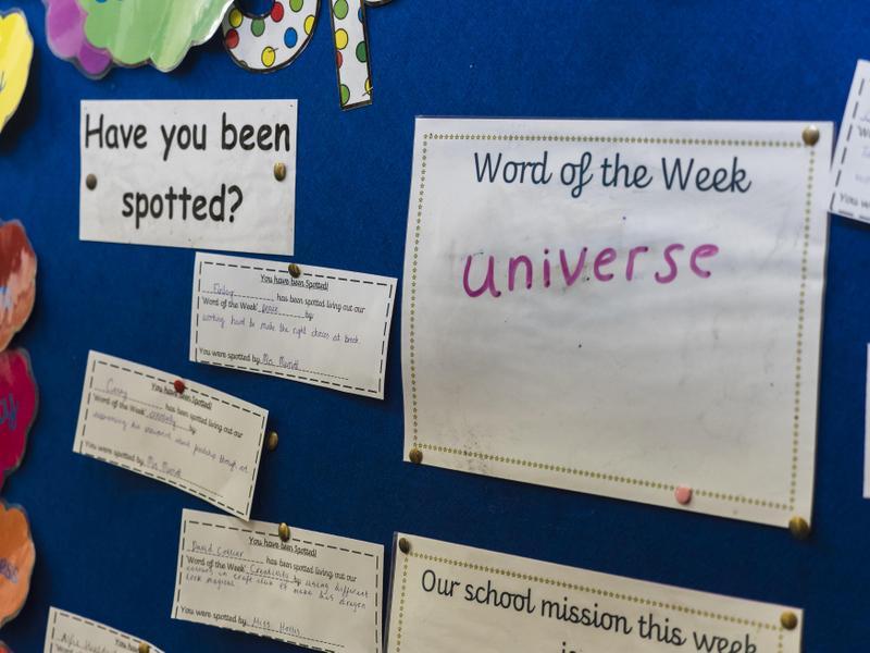 Staff spot children following weekly mission.