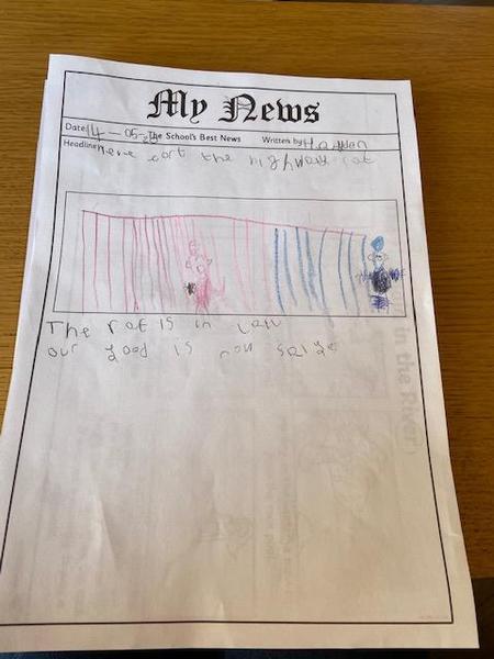 Excellent Newspaper report Hayden