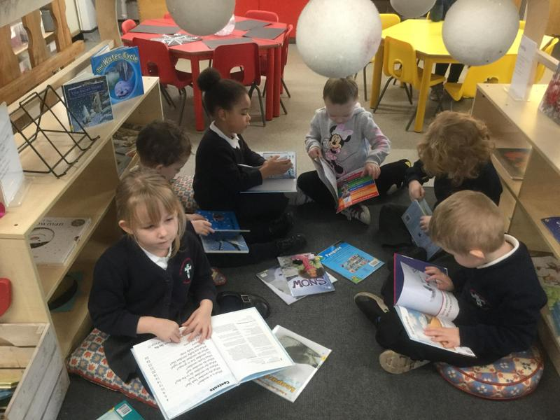 Topic book reading focus