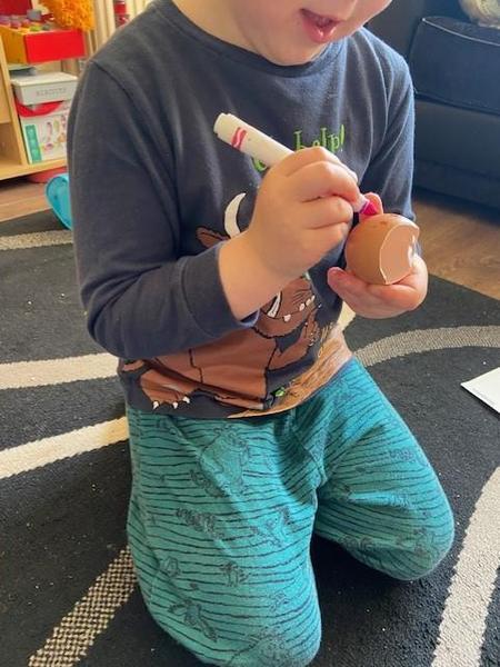 Great egg designing Hayden!