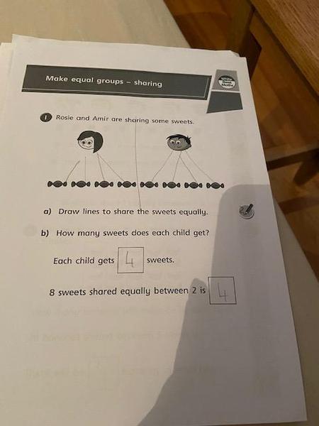 Great maths work Hayden!