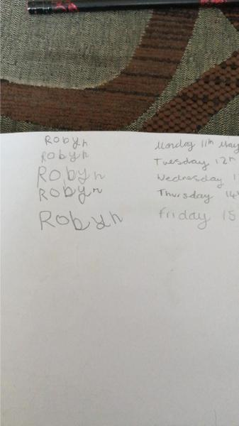 Excellent phonics Robyn!