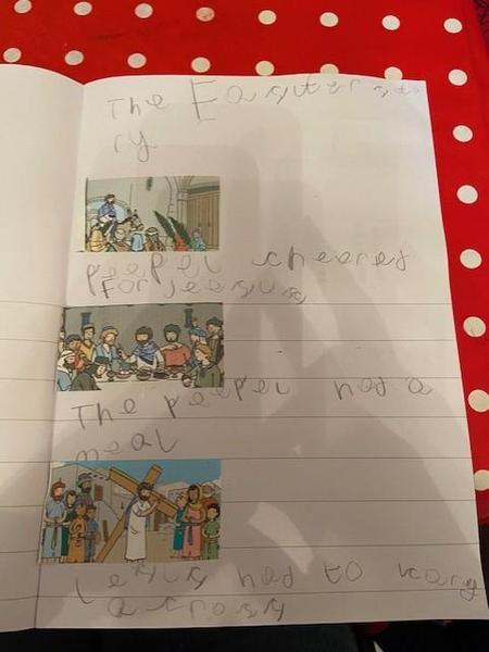 Hayden's Easter story!