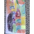 Recreating the Palm Sunday artwork - Harry