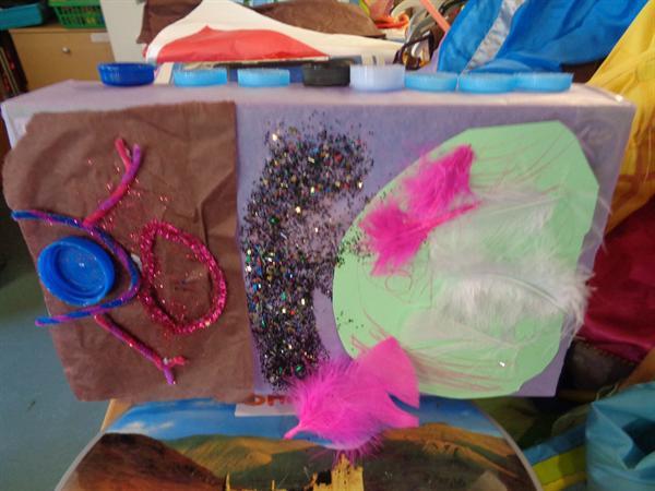 Xanthe's carnival float