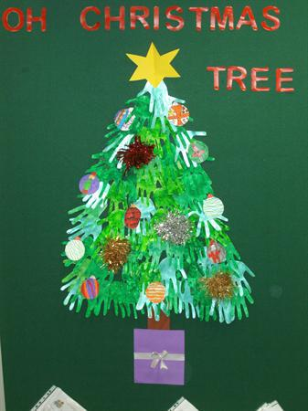 After School Club Christmas Tree
