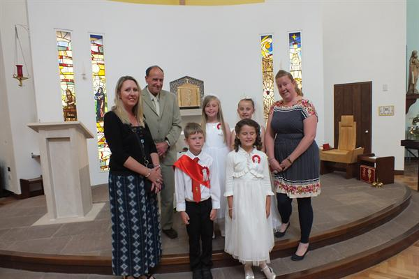 First Holy Communion June 2014