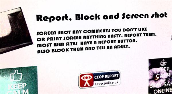 E-Safety Messages.