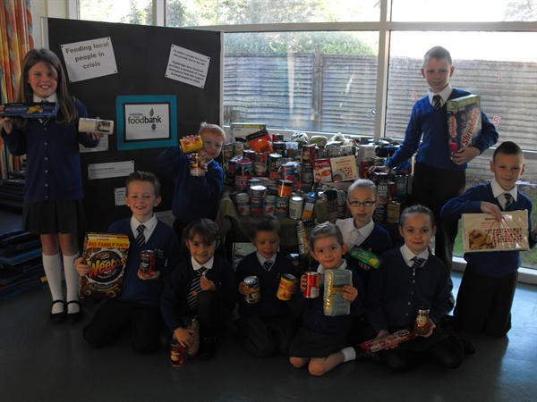 2014 Harvest collection for local Food