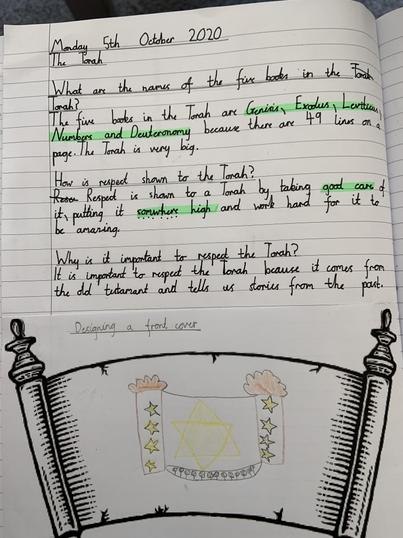 We have learned about the Torah and why it is such a special book.