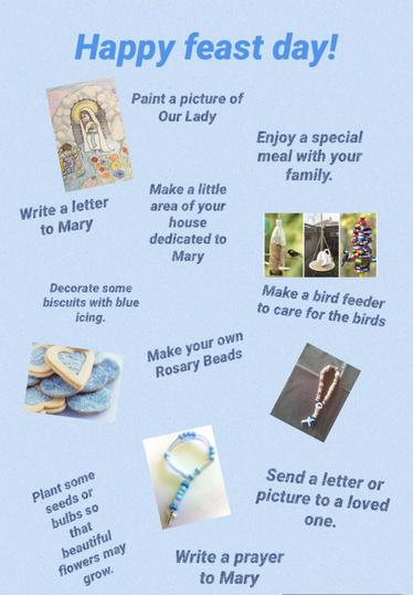 Choose a few of these ideas to celebrate this special day!