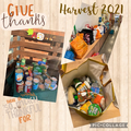 Our Harvest donations generously donated from our school community