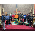 Our new school chaplains wonderfully led our Harvest Liturgy